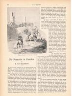 161 Franzosen In Tunesien  1 Artikel Mit 9 Bildern Von 1893 !! - Historische Dokumente