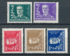 Ungarn Nr. 458-462 * (Michel ~ 16,50 €) - Hungary