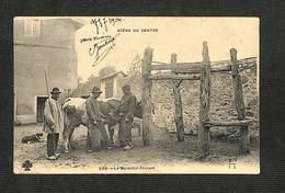 MÉTIERS - SCÈNE DU CENTRE - Le Maréchal-Ferrant - 1904 - Artisanat
