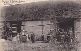 Entreprise De Battage à Vapeur PREVOST Anatole à PIFFONDS 89 - Agriculture