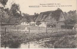 76 - HEUGLEVILLE - Vieilles Chaumières Sur Les Bords De La Scie - Autres Communes