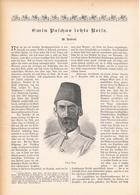 164 Emin Pasch Letzte Reise 1 Artikel Mit 11 Bildern Von 1894 !! - Historische Dokumente