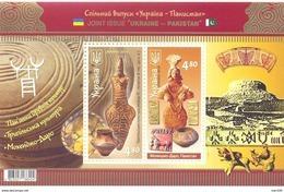 2014. Ukraine, Monuments Of Ancient Cultures, S/s, Joint Issue With Pakistan, Mich. Bl.126, Mint/** - Ukraine