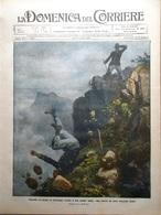 La Domenica Del Corriere 10 Luglio 1910 Reims Reali Romania Westminster Gaspari - Libri, Riviste, Fumetti
