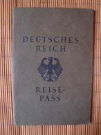 Deutsches Reich, Reisepass Mit Foto, Isselburg, 31.März 1930 - Historische Dokumente