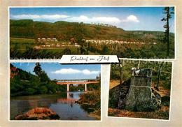 73176014 Bollendorf_Pont Parkdorf Am Fluss Bruecke Deutsch Luxemburgischer Natur - Postcards