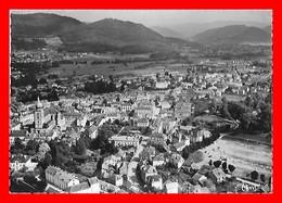 CPSM/gf (88) REMIREMONT.  Vue Aérienne Panoramique, Au Fond, La Chaîne Des Vosges...I0403 - Remiremont