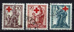 Liechtenstein 1945 // Mi. 244/246 O (033468) - Liechtenstein