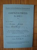 Grenzausweis Mit Foto, Deutsch-niederländischer Grenzverkehr, Isselburg 13.6.31 - Historische Dokumente