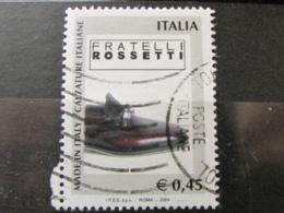 *ITALIA* USATI 2004 - MADE IN ITALY FRATELLI ROSSETTI - SASSONE 2797 - LUSSO/FIOR DI STAMPA - 6. 1946-.. Repubblica