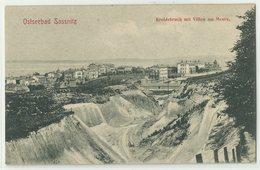Sassnitz Ostseebad Kreidebruch Mit Villen Am Meere Um 1905 - Sassnitz