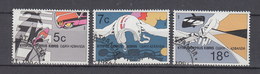 Zypern  1986 ,  Michel Nr:  686/88  Gestempelt  ,CEPT Mitläufer - Europäischer Gedanke