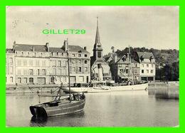 HONFLEUR (14) - PÉRIPLE HISTORIQUE, VOIR LE TEXTE - POULENC LIMITÉE - CIRCULÉE - - Honfleur
