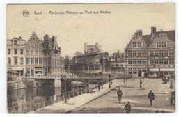 Gand - Anciennes Maisons Au Pont Aux Herbes   STAR 147  Héliotypie De Graeve,Gand - Gent