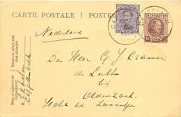 Belgique. CP 66  + TP 139  Cappellen > Oldenzaal (Pays-Bas)   1923 - 1922-1927 Houyoux