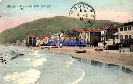 IT - Alassio - Panorama Della Spiaggia - Altre Città