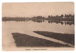 CPA 78 TRAPPES - L'Etang De St Quentin (carte Peu Commune) - Trappes