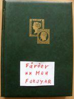 Färöer Inseln Album ** MNH - Katalog 900 EUR - Timbres