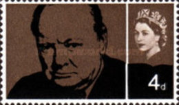 USED  STAMPS Great-Britain - Sir Winston Spencer Churchill - 1964 - 1952-.... (Elizabeth II)
