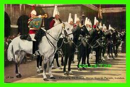 LONDON, UK - CHANGING THE GUARD, HORSE GUARDS PARADE BUCKINGHAM PALACE - LANSDOWNE PUBLISHING CO LTD - - Buckingham Palace