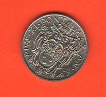 50 Centesimi 1931 Papa Pio XI Vaticano Vatikan Coniati 80.000 Mintage - Vaticano