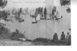 NOIRMOUTIER L'Anse Des Bains Un Jour De Régates  ( Précurseur ) - Noirmoutier