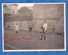 2 Photos Anciennes - NANCY - Groupe D' Enfant Sur Un Court De Tennis à Situer - 1926 - Garçon Fille Raquette - Sports