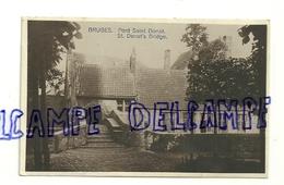 Belgique. Bruges. Brugge. Pont Saint Donat. 1920. (Saint Boniface ?) - Brugge