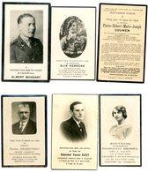 Lot De Faire-part De Décès De 1919 à 1946 - Overlijden