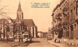 Vilvoorde Vilvorde - OLV Kerk En Schaerbeeksche Steenweg (tram Tramway 53 Animatie) - Vilvoorde