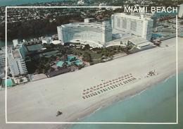 MIAMI BEACH AERIAL VIEW NEW FONTAINEBLEAU HILTON - Miami Beach