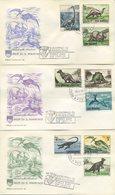 SAN MARINO - FDC  CAPITOLIUM 1965 - ANIMALI DELLA PREISTORIA - DINOSAURI - FDC