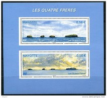 Mayotte, N° 228 à N° 229** Y Et T En Mini - Feuille - Ungebraucht