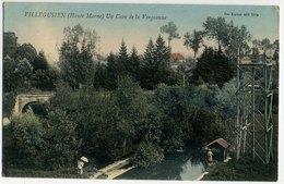 VILLEGUSIEN Un Coin De La Vingeanne, Rivière Deux Femmes Tour En Bois, Bief - Autres Communes
