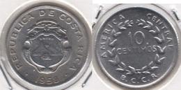 Costa Rica 10 Céntimos 1958 KM#185.1a - Used - Costa Rica