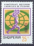 Haltérophilie (Sport) - Albanie - 1973 - Albanie