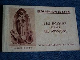 LOT DE 4 CARNETS - Postcards