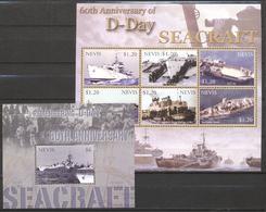 Nevis 2004 - MNH - Ship, World War II - Boten