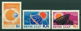 URSS 1964 - Y & T N. 2768/70 - Année Géophysique 1964/65 - 1923-1991 UdSSR