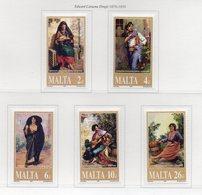 Malta - 2001 - Pittore Maltese Eduard Caruana Dingli  (1876-1950) - 5 Valori - Nuovi - Vedi Foto - (FDC13888) - Malte
