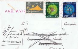 Antilles Néerlandaise - Lettre Pour La France - Antilles