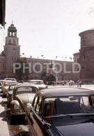 1960 VW VOLKSWAGEN BEETLE SALZBURG AUSTRIA  AMATEUR 35mm DIAPOSITIVE SLIDE Not PHOTO No FOTO B3306 - Diapositives (slides)