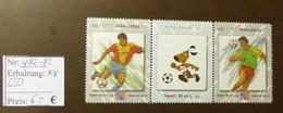 Bangladesh   World Cup   MiNr: 482 -83   Postfrisch ** MNH  #4940 - World Cup