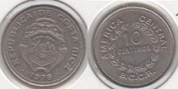 Costa Rica 10 Céntimos 1976 KM#185.2 - Used - Costa Rica