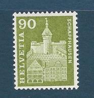 Timbre Neuf** De Suisse, N°656 Yt , Le Munot De Schafhouse - Suisse