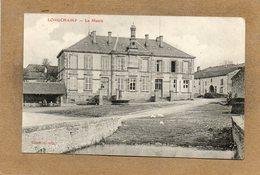CPA - LONGCHAMP (88) - Aspect Du Quartier De La Mairie En 1911 - France
