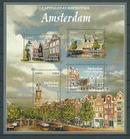 "FRANCE 2016 . Feuille N° F5090 . "" Capitales Européennes "" "" Amsterdam "" . Neuf ** (MNH) . - Blocs & Feuillets"