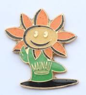 Pin's MAINAU (Allemagne) - La Fleur Personnifiée - H564 - Cities