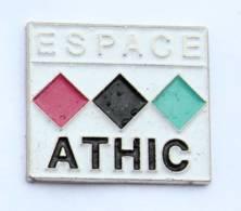 Pin's OBERNAI (67) - ESPACE ATHIC - Le Logo - H566 - Cities