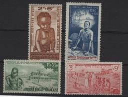 AEF 1 - PA 10/13 Neufs* Quinzaine Impériale - A.E.F. (1936-1958)